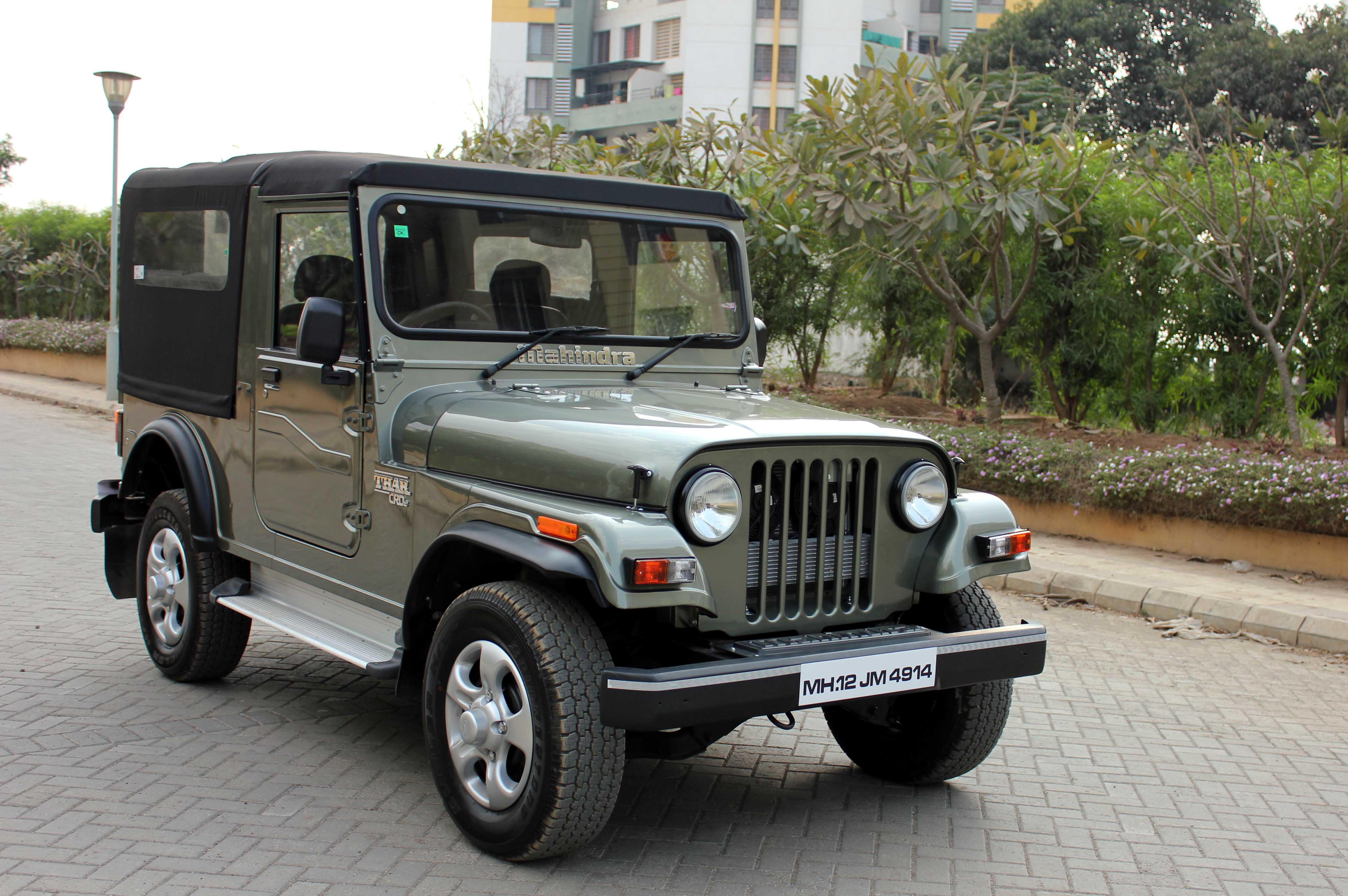 Live Young Live Free My Mahindra Thar Crde 4wd Rubber